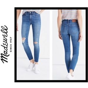 "Madewell 9"" High-Rise Skinny Crop Jeans"